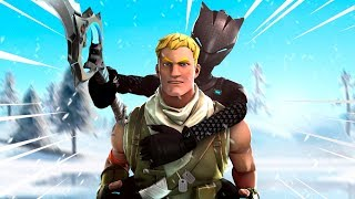Trolling a TOXIC Kid with the SWORD on Fortnite !