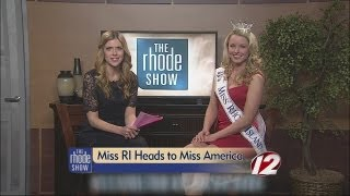 Miss Rhode Island heads to Miss America