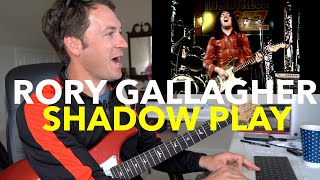 """Guitar Teacher REACTS: RORY GALLAGHER """"Shadow Play"""" 1979 LIVE Montreux 4K"""