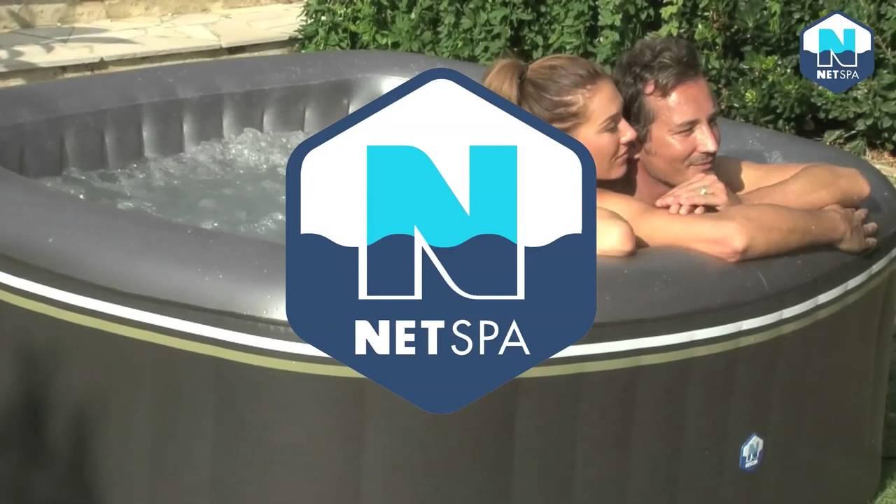 NetSpa Aspen Inflatable Spa (English) - YouTube 92003d4d2229