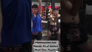 Memperkenalkan Pencak Silat kepada petarung Muay Thai