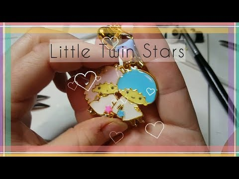 Tutorial/Watch me Craft ♥Little Twin Stars ♥ Kiki & Lala UV-Resin/Harz