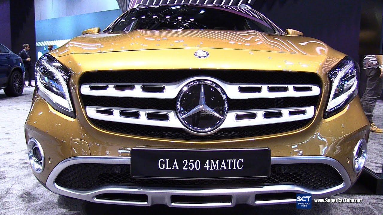 2018 mercedes benz gla class gla 250 4matic exterior for Mercedes benz gla 250 2017