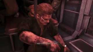 Metal Gear Solid V: Ground Zeroes - Venom Snake (Medic) Paz Surgery, Mother Base Destroyed Cutscene