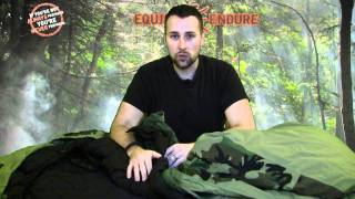 Military 3 Piece Sleep System Overview, Equip 2 Endure