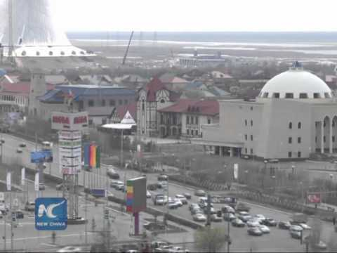 Chinese president visits Kazakhstan