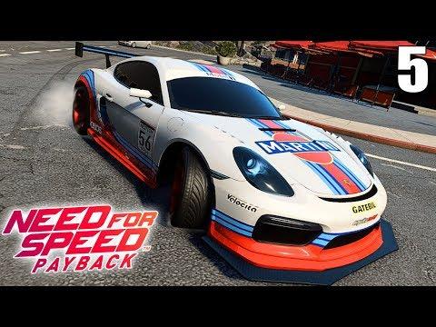 NEED FOR SPEED PAYBACK | PORSCHE CAYMAN GT4 | Yokai Games |