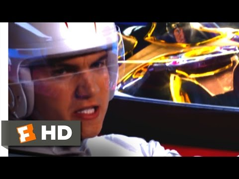 Speed Racer (2008) - Spearhook, He Got Me! Scene (7/7) | Movieclips