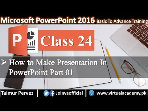 How to Create Professional Presentation in Microsoft PowerPoint in Urdu/Hindi Part A.  24 thumbnail