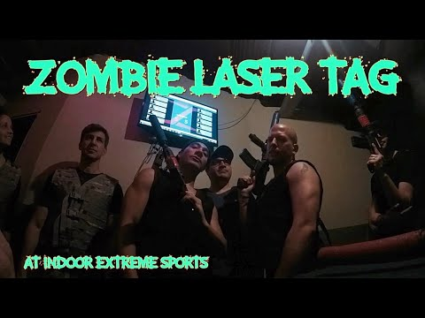 Zombie Laser Tag Indoor Extreme Sports Youtube