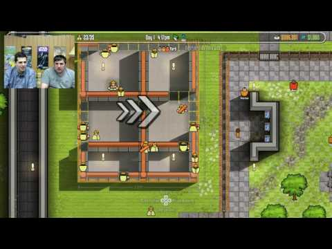 Prison Architect (PS4) live stream