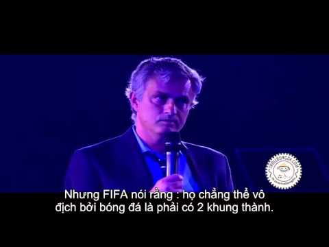 Mourinho speech chelsea player of the year awards