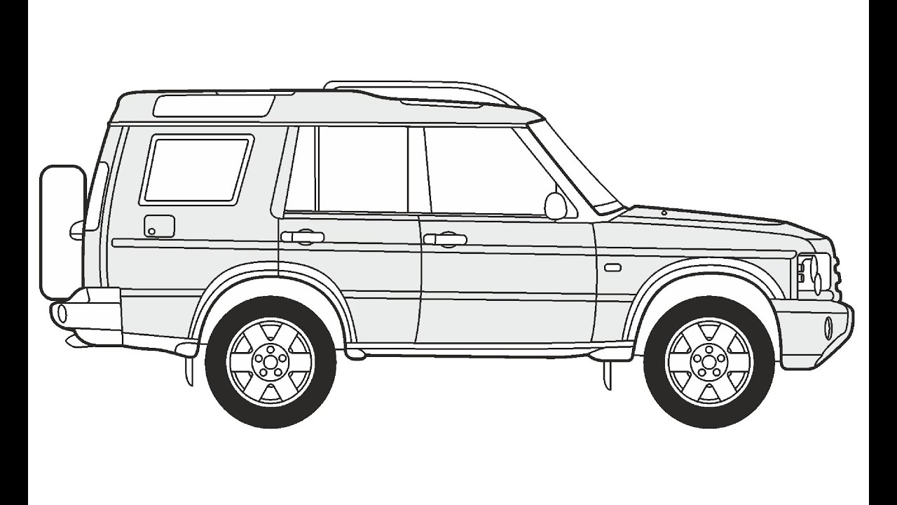 It's just a photo of Hilaire Range Rover Drawing