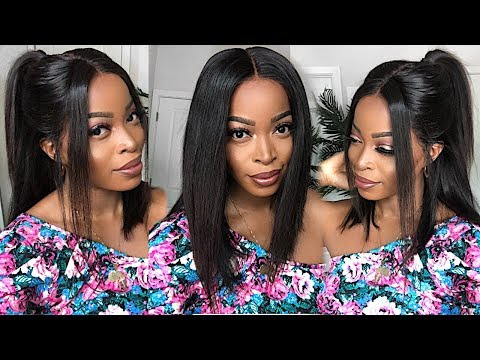 How To Reinstall A LACE  FRONT WIG & CLEAN THE LACE Ft. Beauty Forever Hair