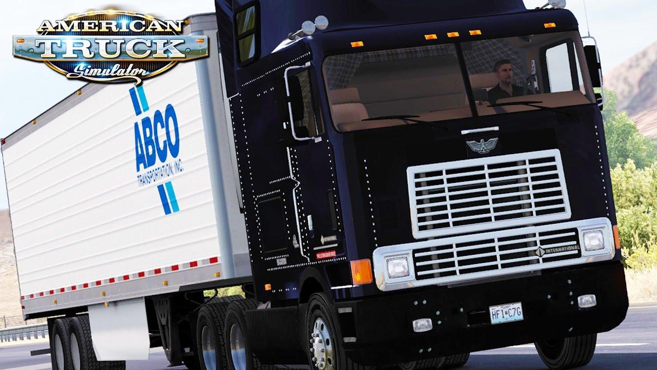 American Truck Simulator - International 9800 Eagle - YouTube
