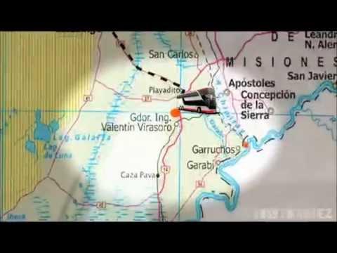 Circuito Yerbatero : Recorrido mapa por el circuito yerbatero corrientes misiones