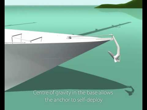 Ultra Anchor animation showing the setting characteristics.