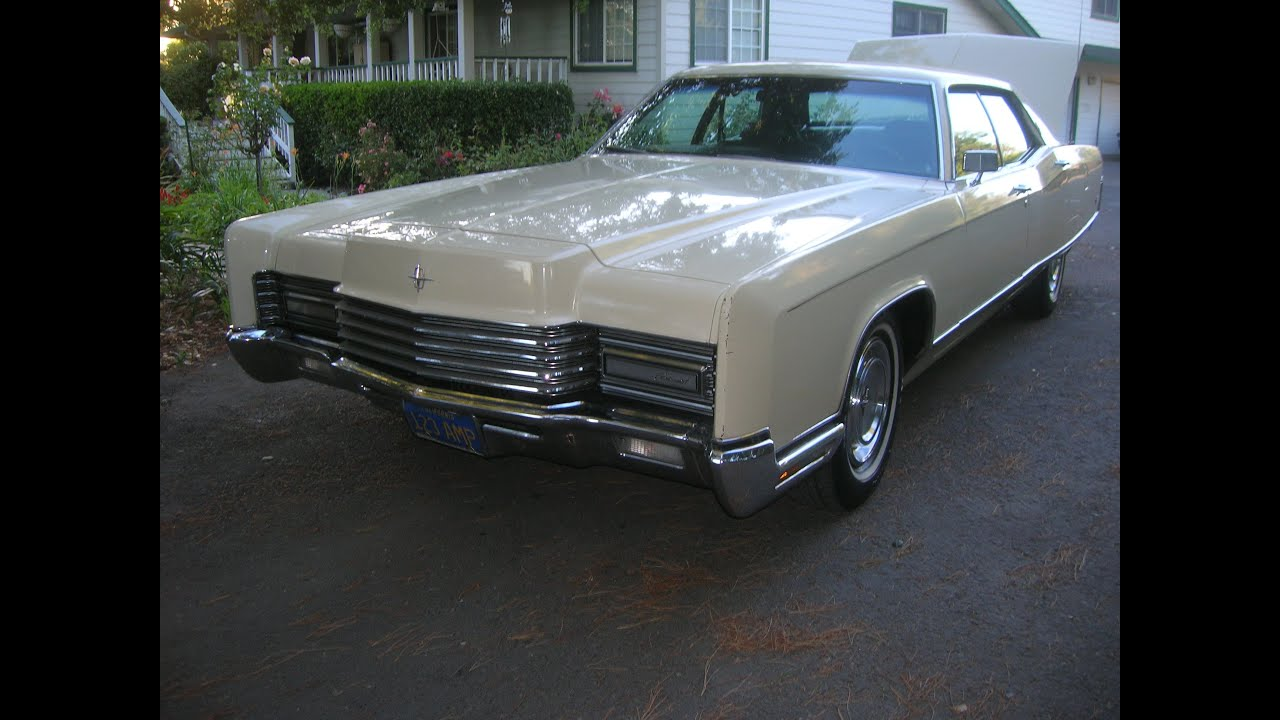 Lincoln Town Car 2016 >> 1970 Lincoln Continental Original Low Mile Car out of a ...