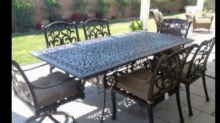 High Top Patio Table and Chairs