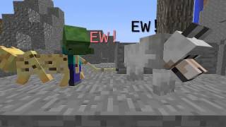 What Happens If A Cat And Dog Breed? - Minecraft Machinima
