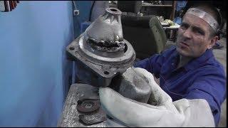 ТИГ сварка.  Рукожопный ремонт передней крышки стартера.