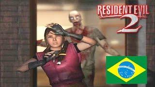Resident Evil 2 DUBLADO em Português no Playstation 1