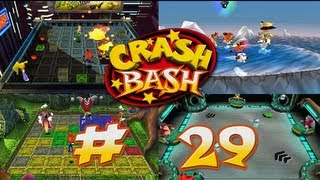 Jugando Crash Bash - # 29 ( Reliquia - Tilt Panic , Pogo-A-Gogo , Space Bash y Desert Fox)