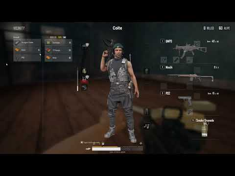 PUBG game. Squad with friends- Death then life, then death again.
