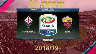 Download Video FIFA 19 Fiorentina Vs Roma | Serie A 2018/19 | PS4 Full Match MP3 3GP MP4