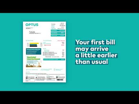 Your Optus Bill Explained