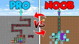 Minecraft NOOB vs. PRO : EXPLORING MAZE CHALLENGE in Minecraft (Compilation)