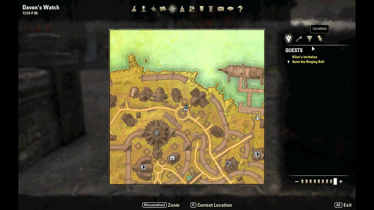 Elder scrolls online map of the land youtube elder scrolls online map of the land gumiabroncs Gallery