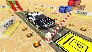 Modern Police Car parking Games Fun Parking 3d Android Gameplay