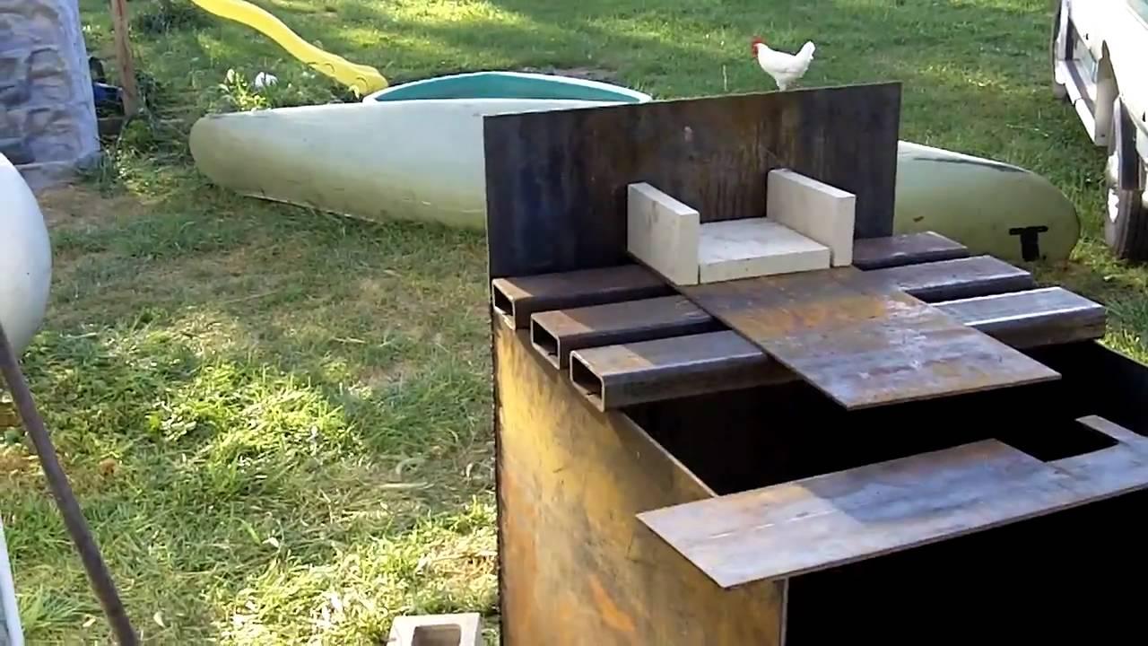 #1 DIY Outdoor Wood Burner Boiler (Hydronic Wood burning ...