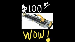 QEP 35 Inch Manual Tile Cutter Quick Review! Best Deal Yet!