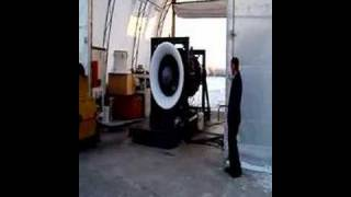 30,000 Hp GE Turbine engine