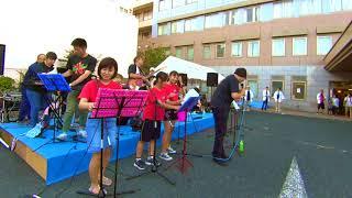 碩台公民館 ロックバンド講座19名で 吉田病院の夏祭りで演奏させていた...