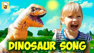 Dinosaurs song with action Alena and Pasha Nursery Rhymes Song for kids toddlers by Chiko TV HD Vlad