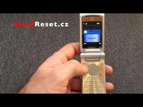 Фабрика Hard Reset Motorola KRZR K1