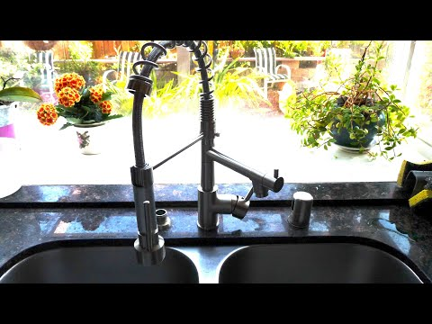 How To Install An Industrial Kitchen Faucet Ask This Old House Youtube
