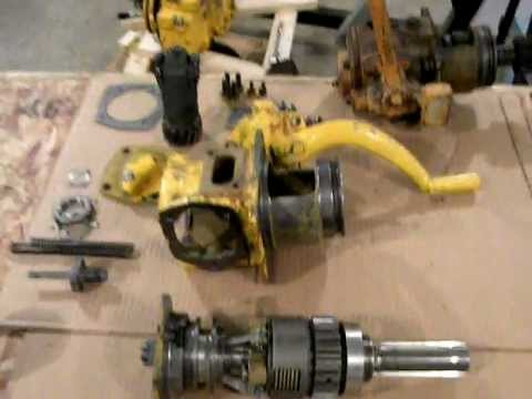 Caterpillar D2 and D4 pinion clutch repair