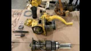 caterpillar d2 and d4 pinion clutch repair