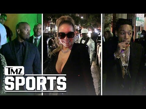 Floyd Mayweather Party Guests Arriving and Leaving Floyd's Party   TMZ Sports