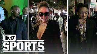 Floyd Mayweather Party Guests Arriving and Leaving Floyd's Party | TMZ Sports