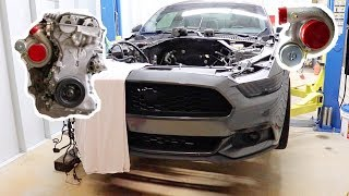 2015 Blown Motor Ecoboost Gets...New Motor + Big Precision Turbo!!