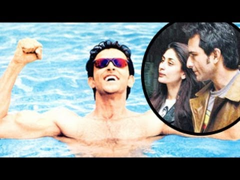 Hrithik Roshan IGNORES Kareena Kapoor and Saif Ali Khan at IIFA Awards 2014