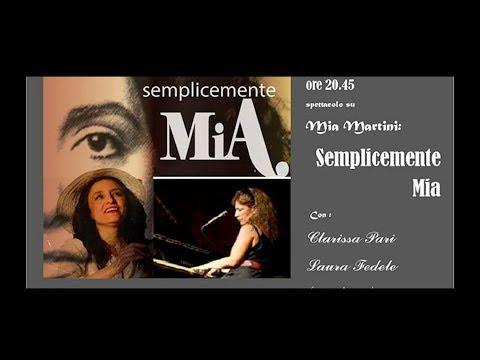 """Spettacolo teatrale su Mia Martini:""""Semplicemente Mia"""""""