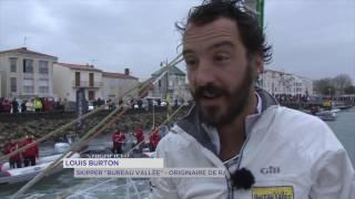 Vendée Globe : l'Yvelinois Louis Burton de retour sur la terre ferme