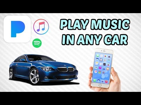 Play music on android phone in car