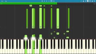 Al Jarreau - Roof Garden PIANO TUTORIAL (SYNTHESIA)